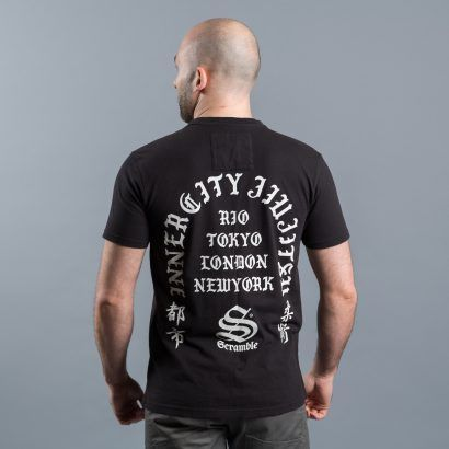 Scramble Inner City Jiu-Jitsu T-Shirt - Black