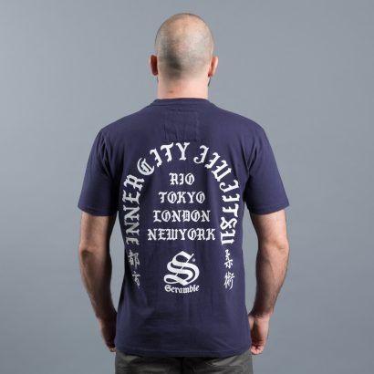 Scramble Inner City Jiu-Jitsu T-Shirt - Navy