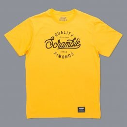 Scramble Quality Kimonos Tee - Yellow