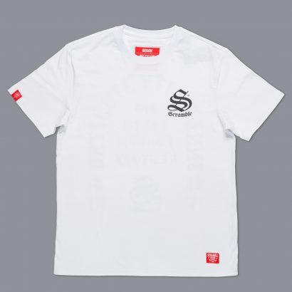 Scramble Inner City Jiu-Jitsu T-Shirt - White