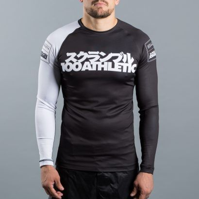 Scramble x 100Athletic Rashguard