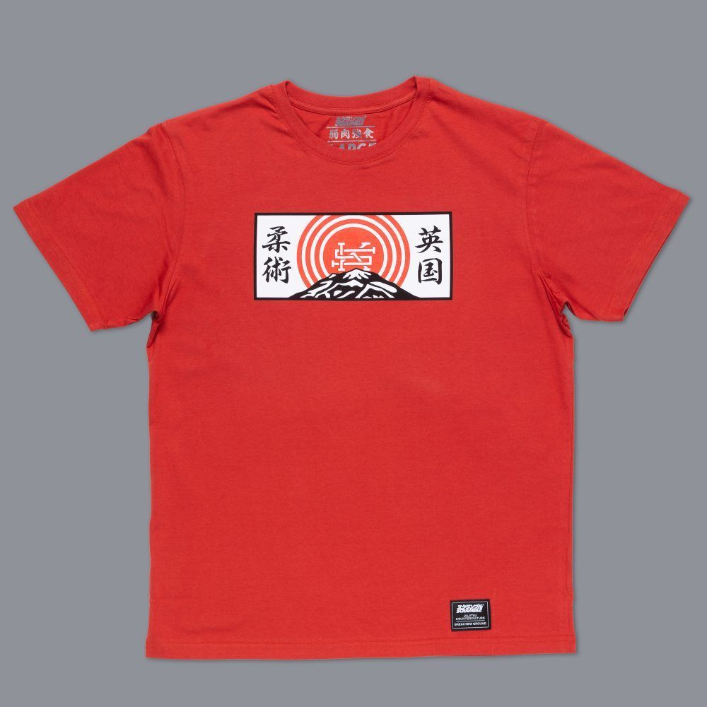 Scramble Mountain T-Shirt - Red