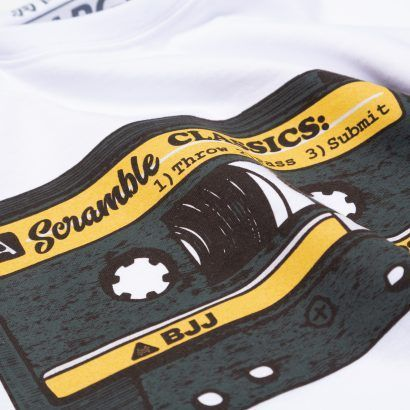 Scramble Old School T-Shirt - White