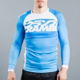 Scramble Ranked Rashguard V3 - Blue