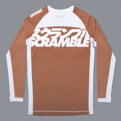 Scramble Ranked Rashguard V3 - Brown