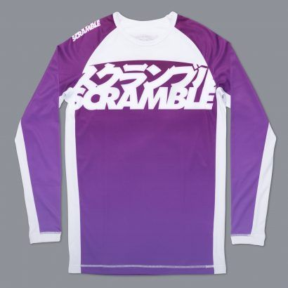 Scramble Ranked Rashguard V3 - Purple