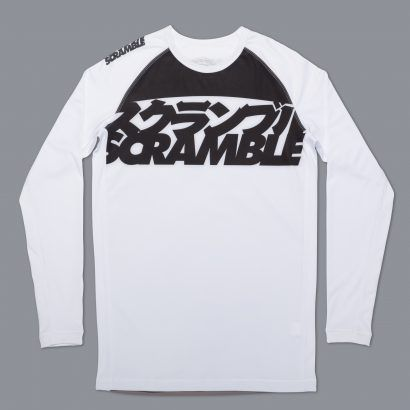 Scramble Ranked Rashguard V3 - White