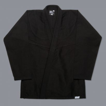 "Scramble ""Standard Issue - Semi Custom"" BJJ Gi - Black"
