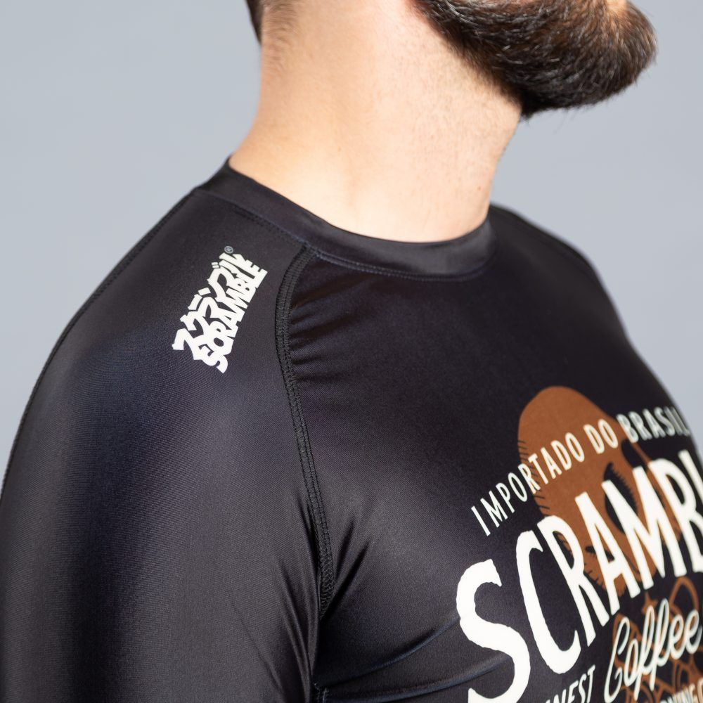 Scramble Coffee then Chokes Rashguard