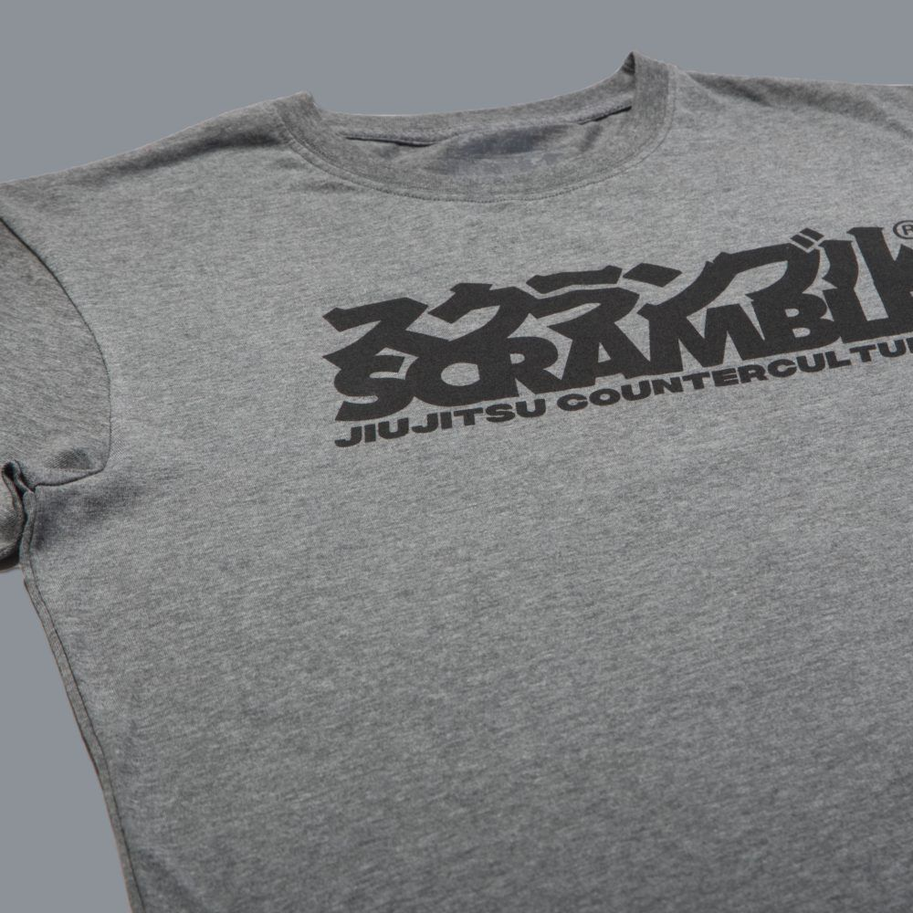 Scramble Counterculture Tee - Heather Grey