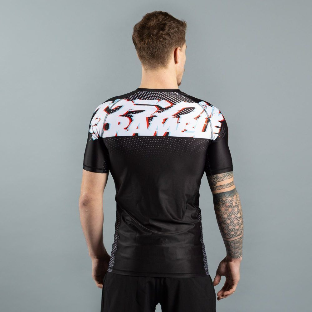 Scramble Glitch Rashguard