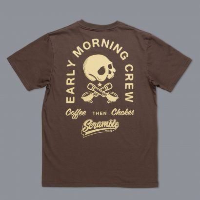 Scramble Coffee then Chokes T-Shirt