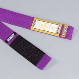 Scramble Tanren v4 BJJ Belt - Purple