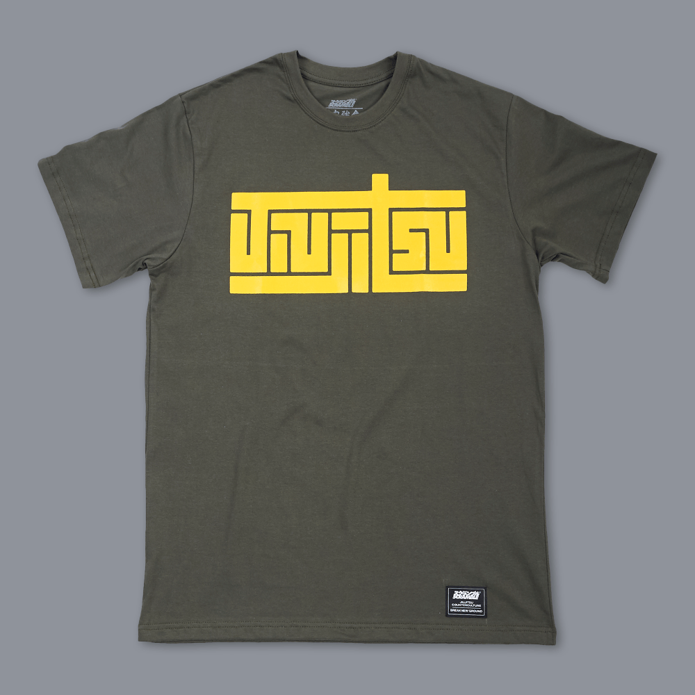 Scramble Block Tee - Green
