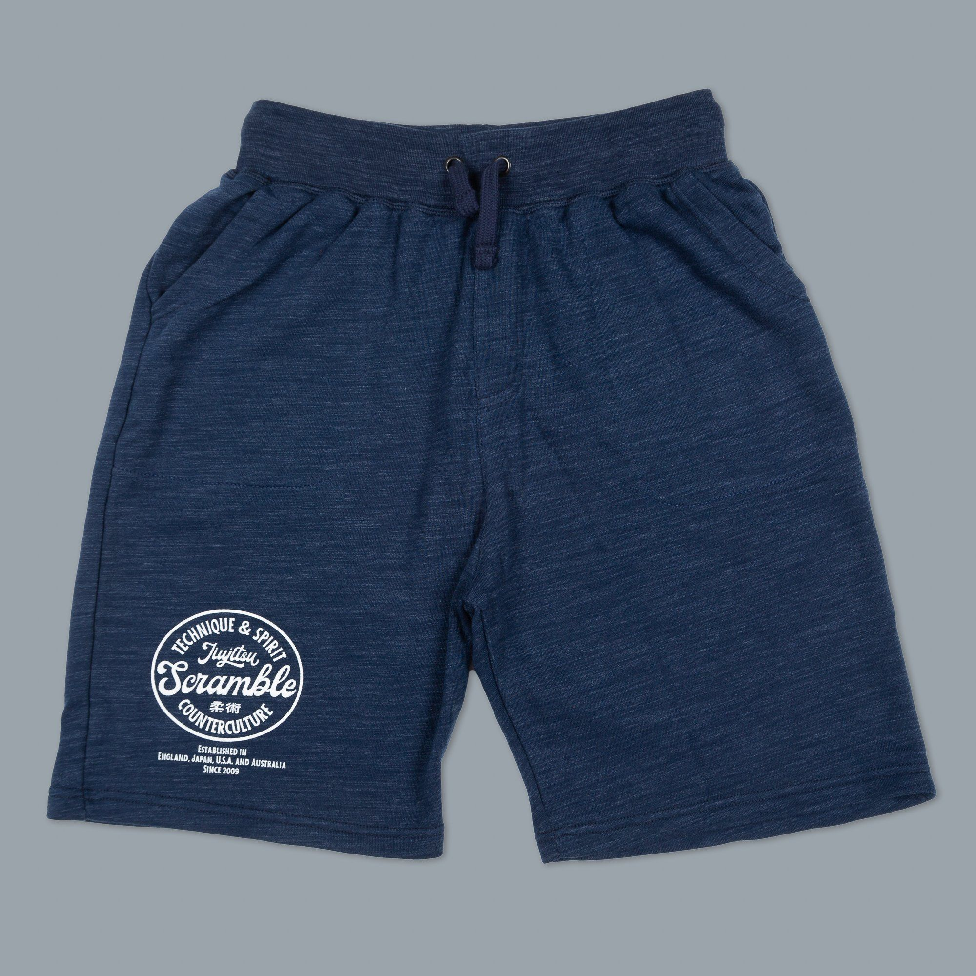 Scramble Technique & Spirit Casual Shorts - Navy