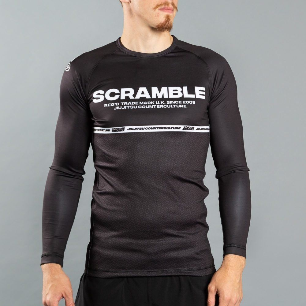 Scramble Ranked Rashguard v4 - Black
