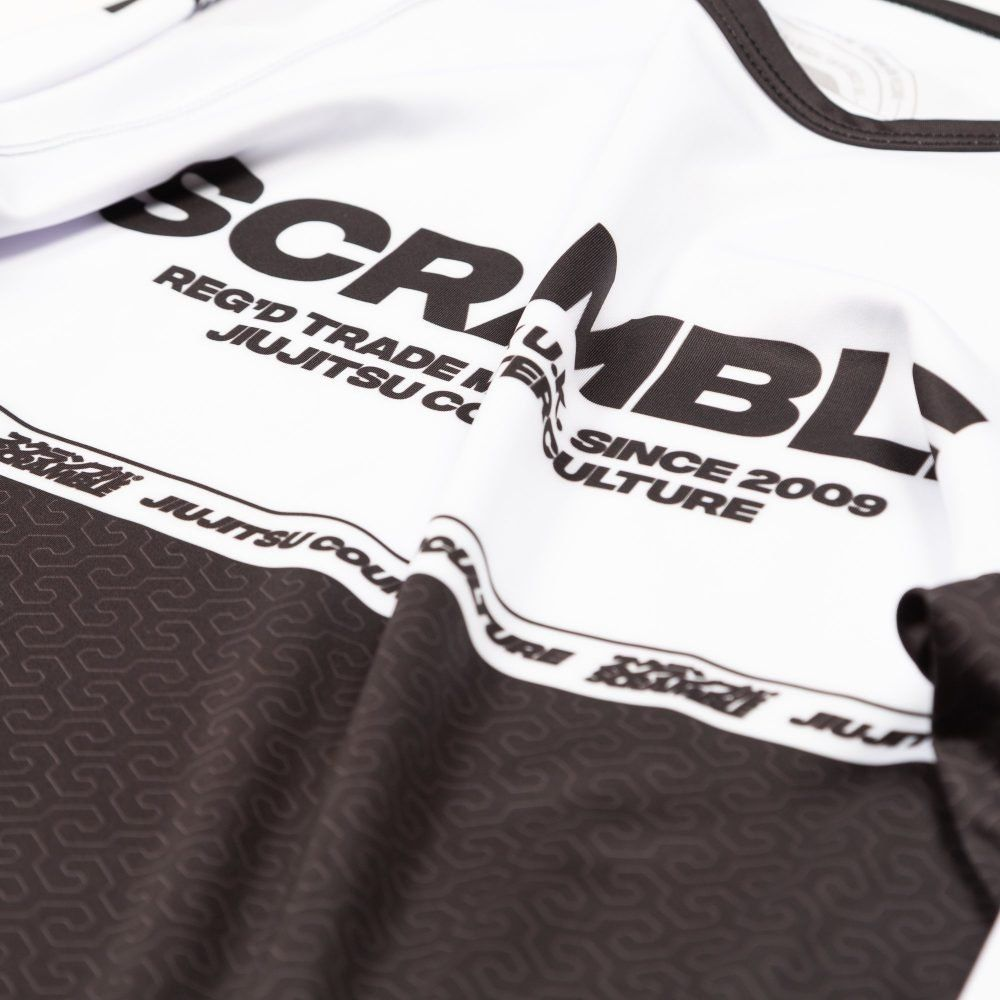Scramble Ranked Rashguard v4 - White