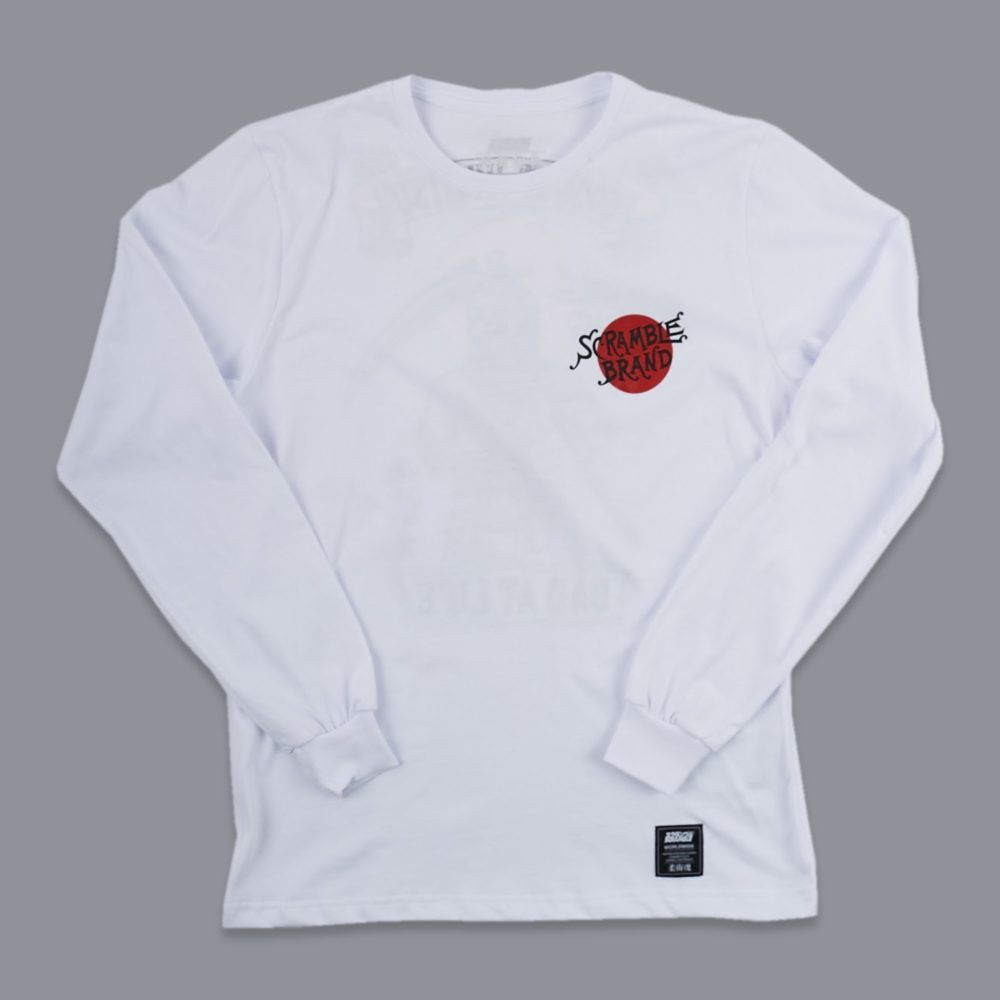 Scramble Bad at Life Long Sleeve Tee - White