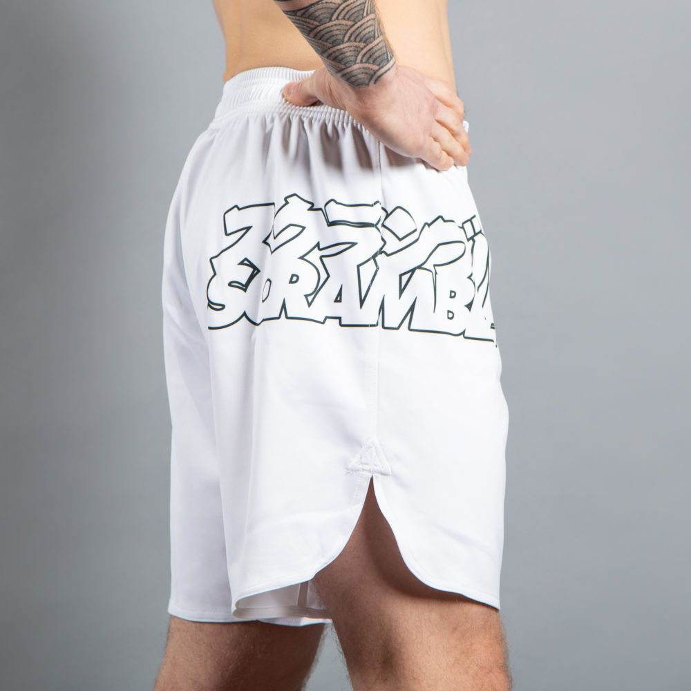 Scramble Core Shorts - White