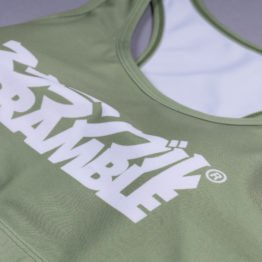 Scramble Verano Sports Bra - Green