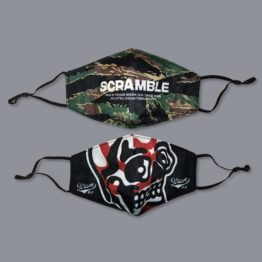 Scramble Adjustable Face Mask Set