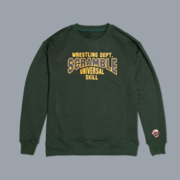 Scramble Collegiate Wrestling Sweatshirt - Sporting Green
