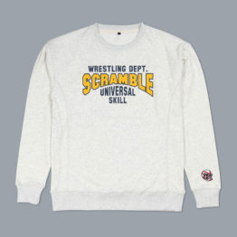Scramble Collegiate Wrestling Sweatshirt - Freshman Grey